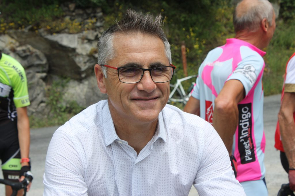 Laurent Jalabert, champion cycliste et commentateur Tour de France