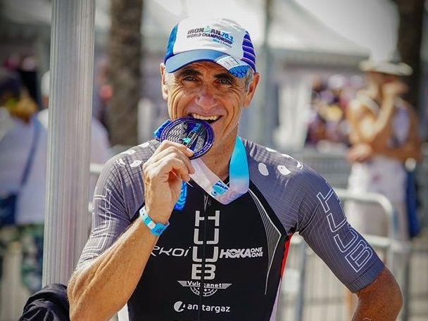Laurent Jalabert, champion Iron Man © Laurent Jalabert